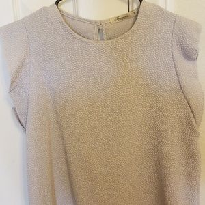 Francesca light grey top